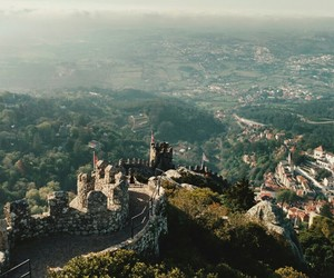 castle, europe, and middle age image