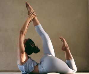 amazing, fit, and yoga image