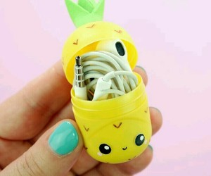 cute, diy, and pineapple image