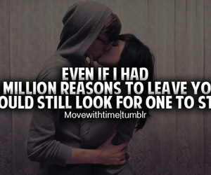 love, quote, and reason image