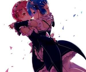 anime, anime girl, and demon image