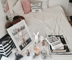 room, cute, and white image