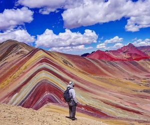 colors, mountain, and peru image