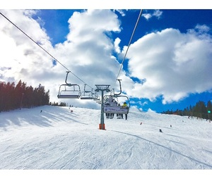 elevator, snowboard, and finland image