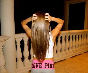 pink, hair, and love pink image