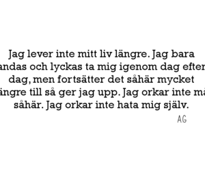 swedish, depression, and citat image