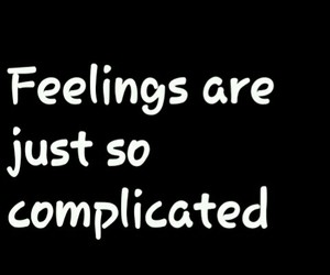 complicated, empty, and love image