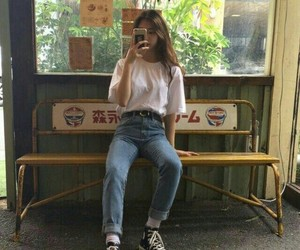 asian, grunge, and girl image