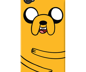 iphone, JAKe, and adventure time image
