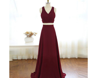 prom dress, formal gown, and long party dress image