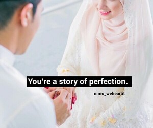 cute couple, muslim, and perfection image