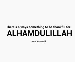allah, islam, and thankful image