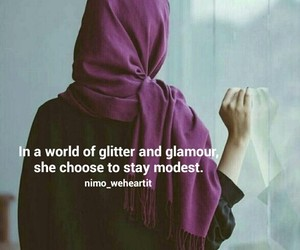 glamour, glitter, and hijab image