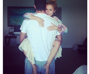 love, couple, and hayden panettiere image