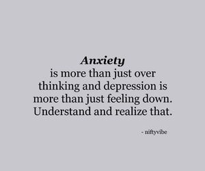 anxiety, depression, and quotes image