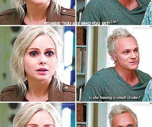 david anders, olivia moore, and izombie image