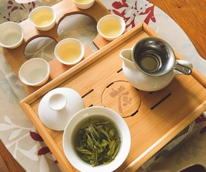 chinese tea, food, and Gastronomy image