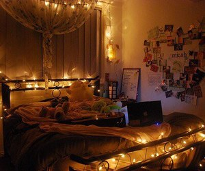 beautiful, cozy, and lights image