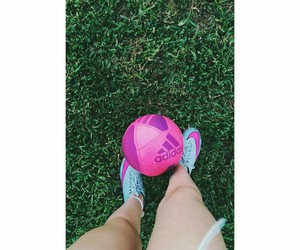 football and pink image