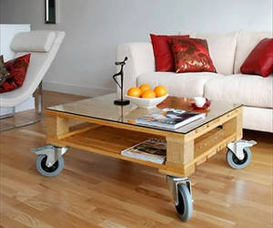 pallets coffee table 2