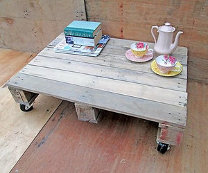 pallets coffee table 6