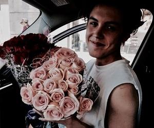 flowers, matthew espinosa, and boy image