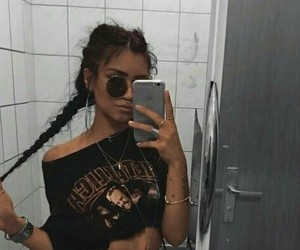 girl, style, and braid image