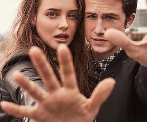 thirteen reasons why, dylan minnette, and katherine langford image