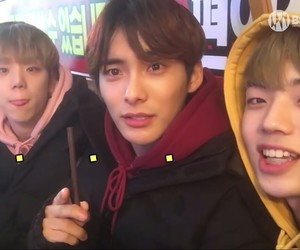 ace, Chan, and debut image