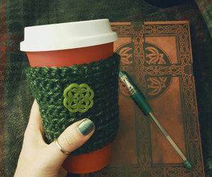 celtic, coffee, and cozy image