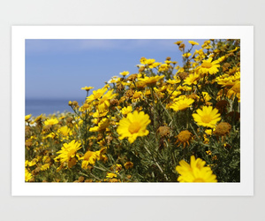 flowers, society6, and happy image