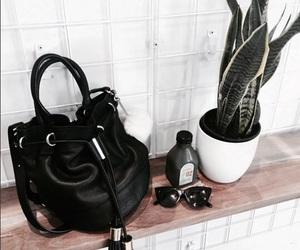 bag, fashion, and plants image