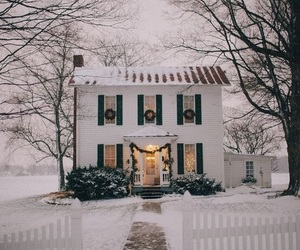 christmas, cozy, and house image