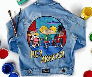 hey arnold, cartoons, and nickelodeon image