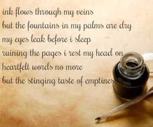 emptiness, ink, and poem image