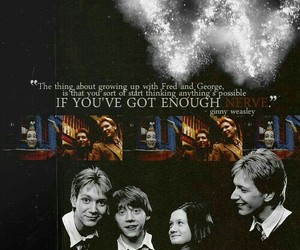 harry potter, quote, and ginny weasley image