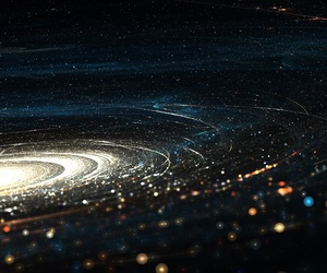 galaxy, solar system, and space image