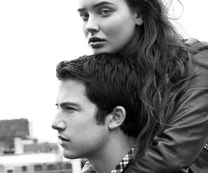 13 reasons why, katherine langford, and dylan minnette image