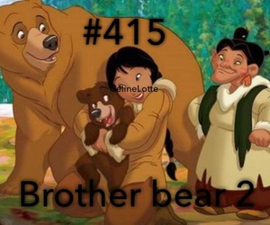 2, movie, and brother bear image