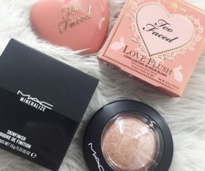blush, shimmer, and gold image