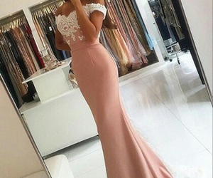 classy, girl, and dress image