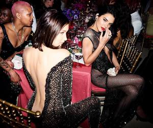 kendall jenner, bella hadid, and fashion image