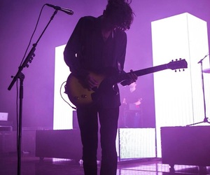 the 1975, music, and purple image