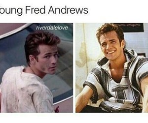 riverdale and fred andrews image