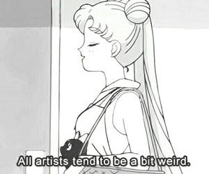 sailor moon, anime, and artist image