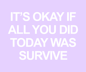 mental health, quote, and recovery image