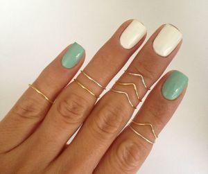 etsy, midi rings, and x image
