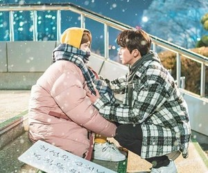 cute, couple, and kdrama image