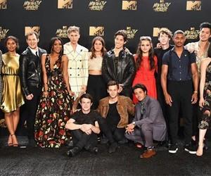 cast, mtv movie awards, and thirteen reasons why image