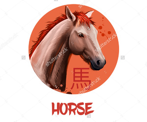 brown, horse, and red image